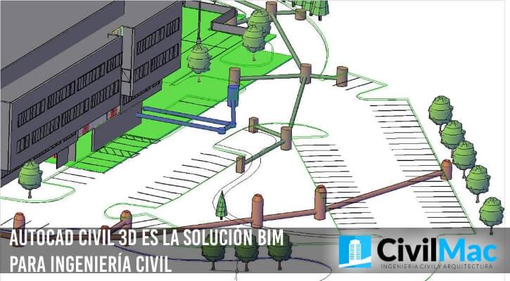 AUTOCAD CIVIL 3D ES LA SOLUCIÓN BIM PARA INGENIERÍA CIVIL
