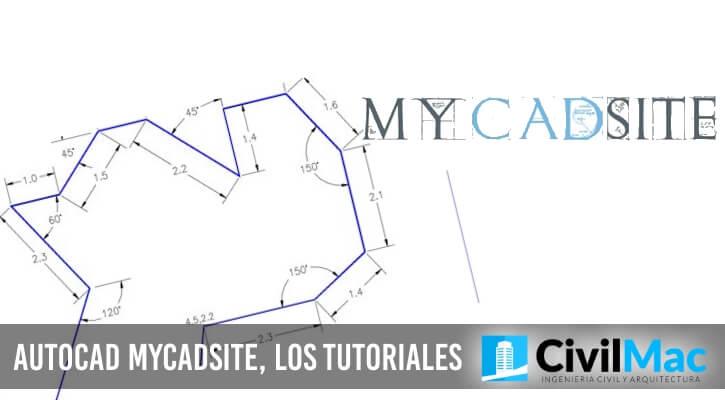 AUTOCAD MYCADSITE, LOS TUTORIALES