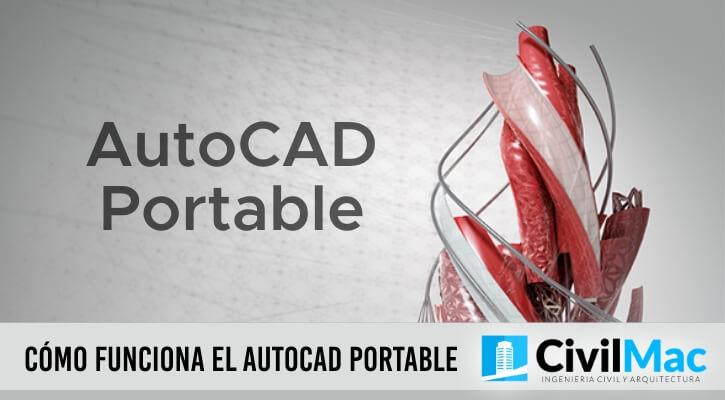 Cómo funciona el AutoCAD portable