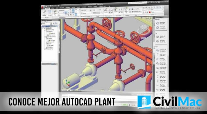 Conoce mejor Autocad Plant