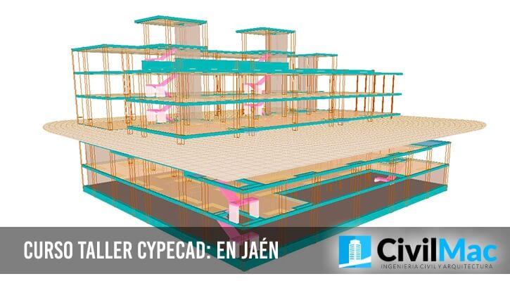 Curso taller CYPECAD: en Jaén