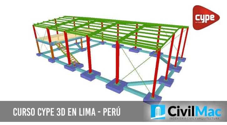 Curso CYPE 3D en Lima - Perú