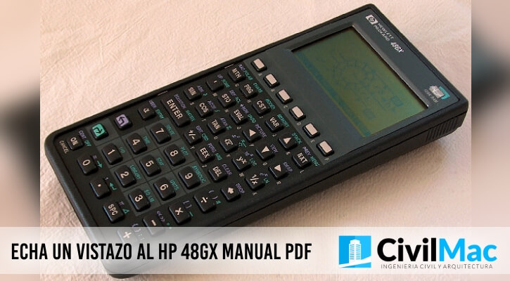 ECHA UN VISTAZO AL HP 48GX MANUAL PDF