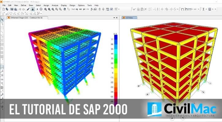 EL TUTORIAL DE SAP 2000