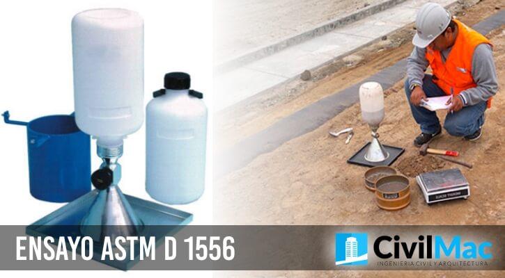 ENSAYO ASTM D 1556
