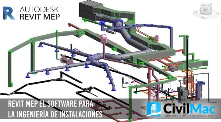 Revit MEP el software para la ingeniería de instalaciones