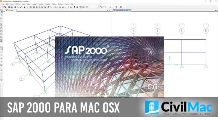 SAP 2000 para MAC OSX