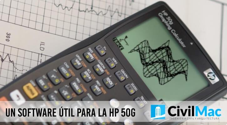 UN SOFTWARE ÚTIL PARA LA HP 50G